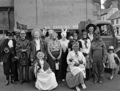 Fig 2: Geoff Charles, Ellesmere Carnival, 4th September 1955. Courtesy of the National Library of Wales